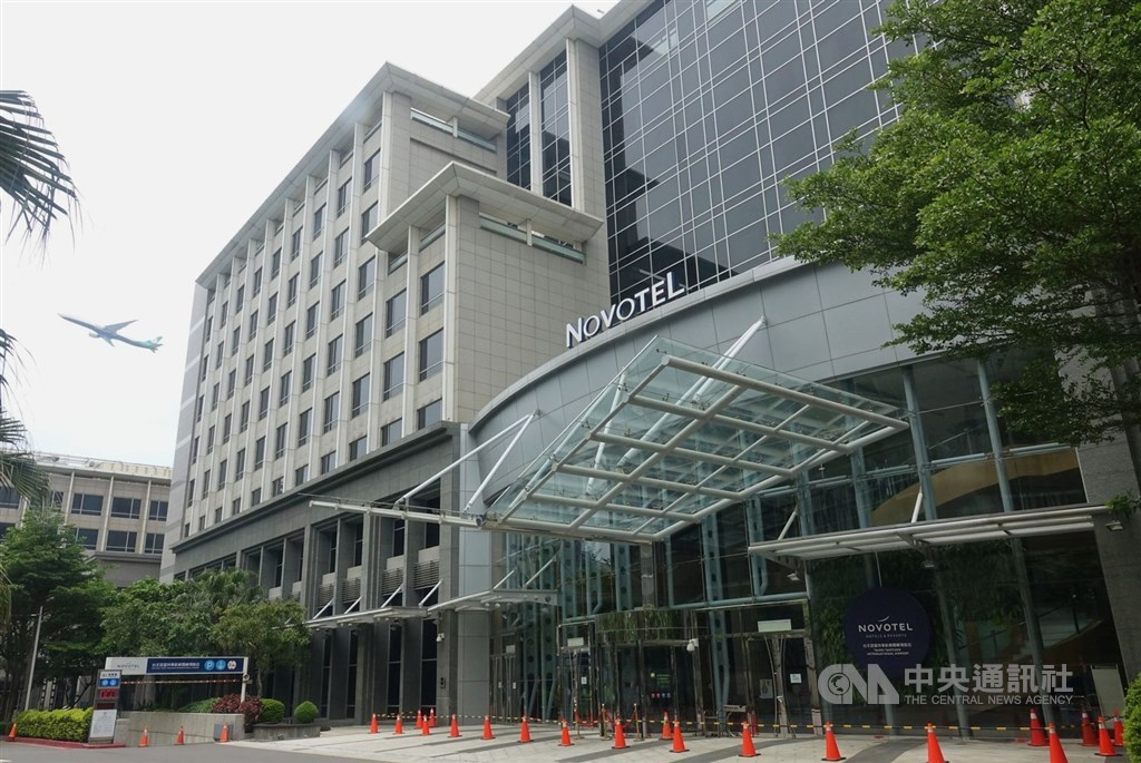 Taoyuan fines Novotel airport hotel for breaking quarantine rules