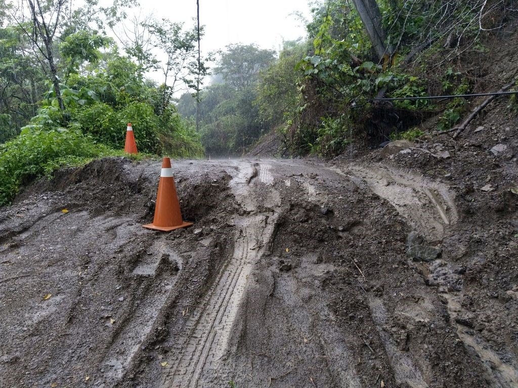 Kaohsiung districts close schools, offices on mudslide fears